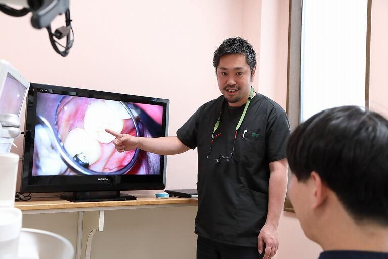最大限歯を残すための根管治療